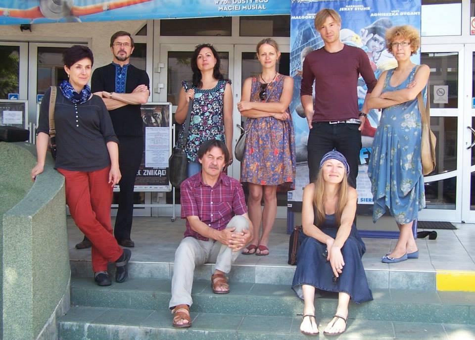 Учасники пленеру Arboretum 2013