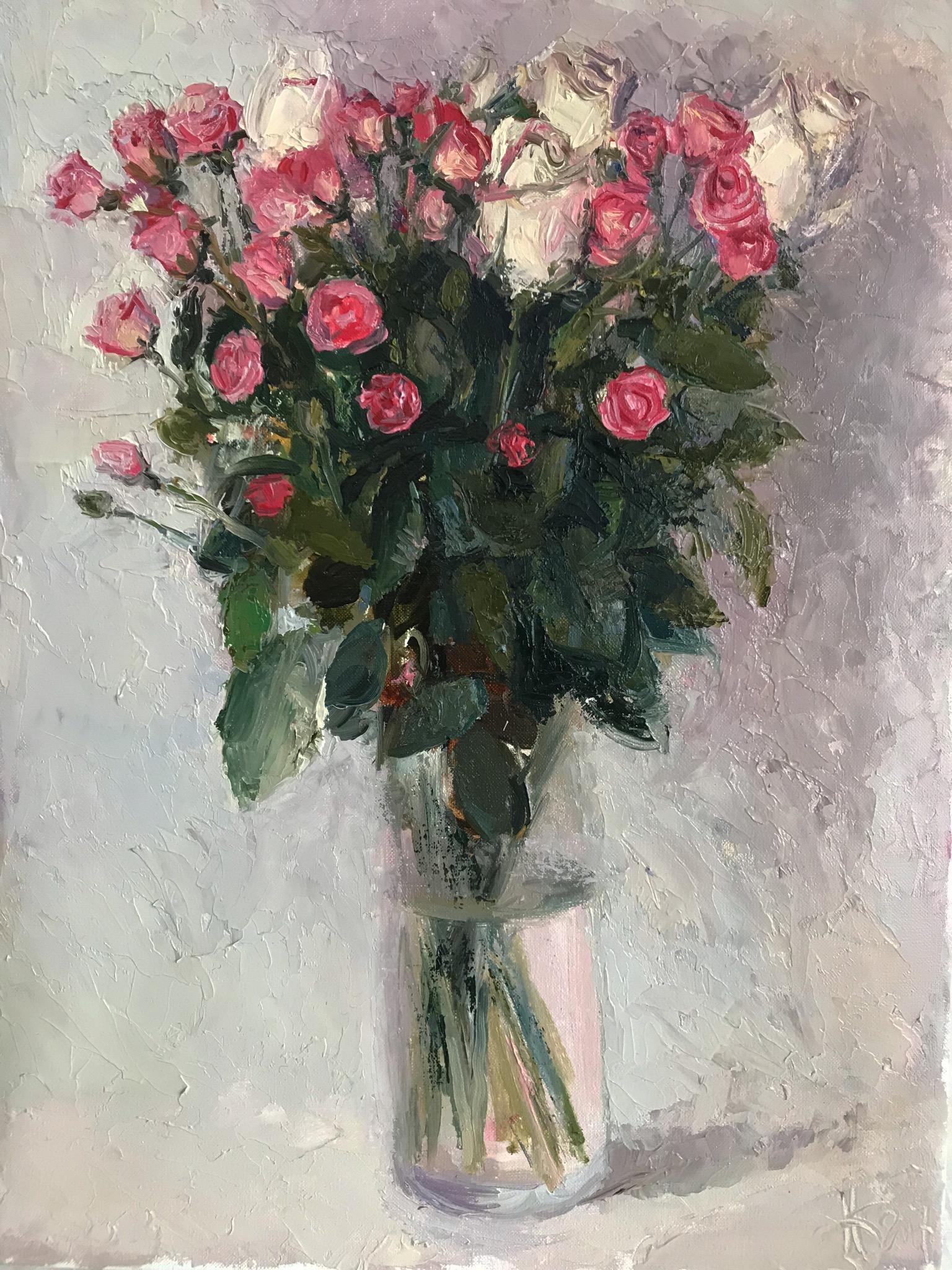 рози 2017 40х30