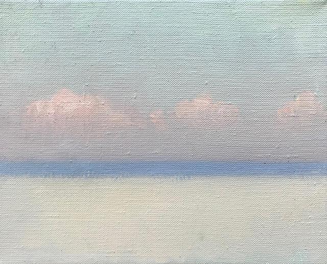 Jne day of July, 2018, oilcanvas, 20x24 cm с