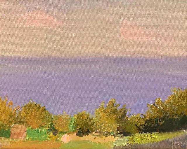 July, 2018, oil canvas, 20x24 cm с