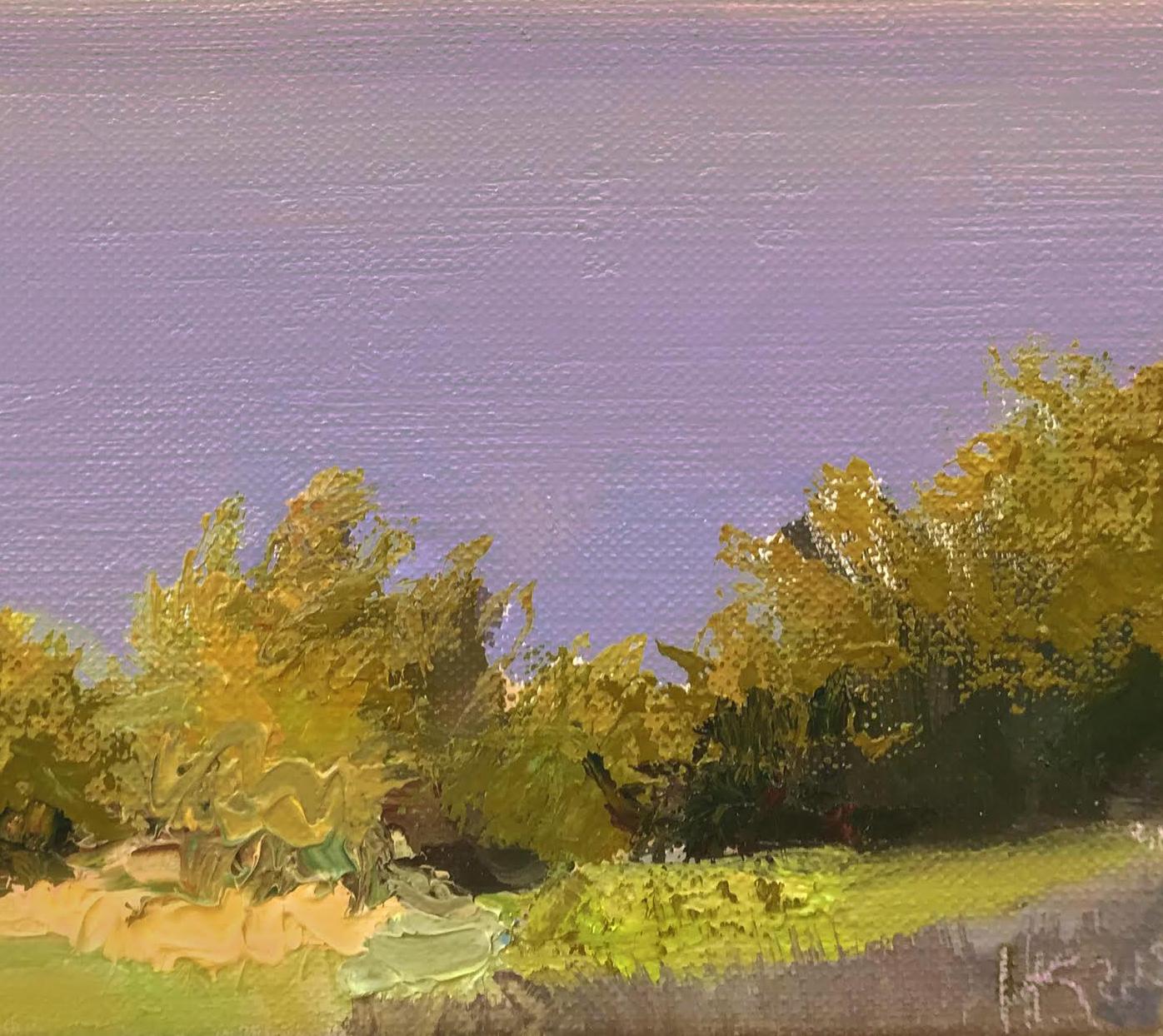 July, 2018, oil canvas, 20x24 cm фр